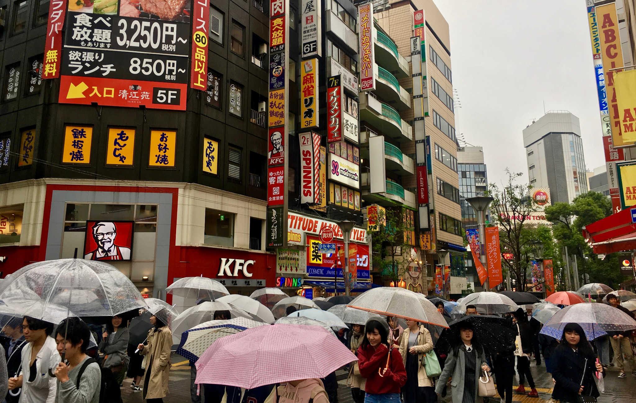 Pluie et typhon pour ma dernière journée au Japon