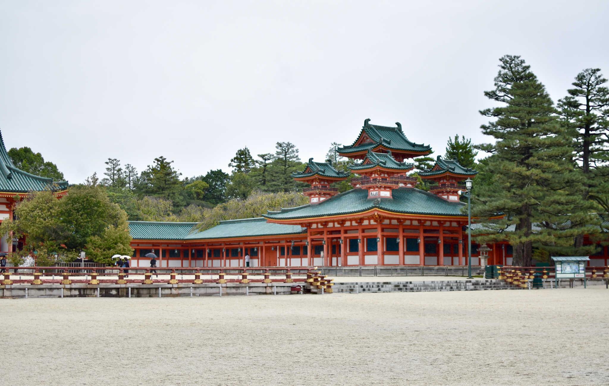 Heian-jingu, la perle historique de Kyoto