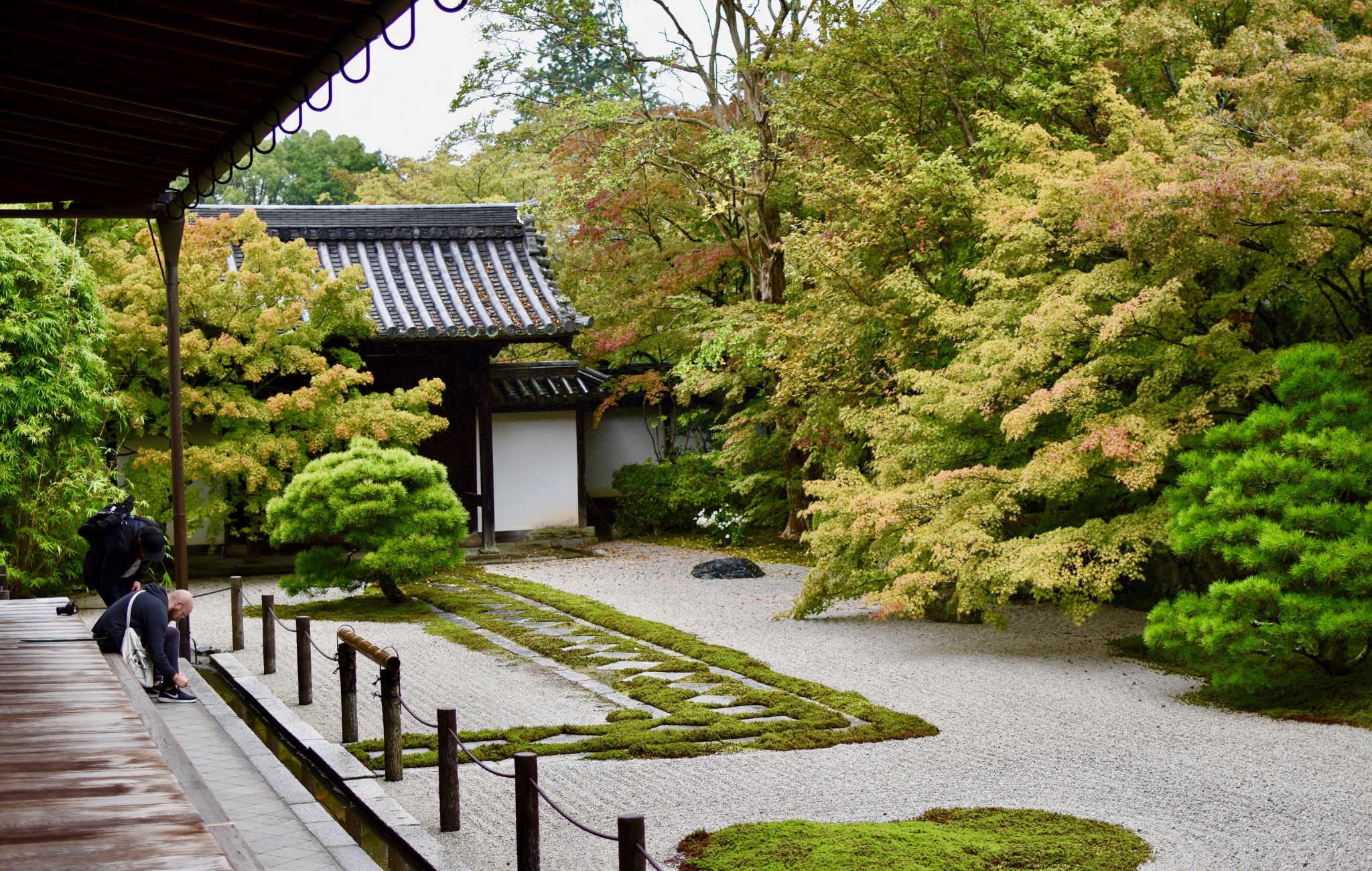 Nanzen-ji, un des grands temples zen de Kyoto