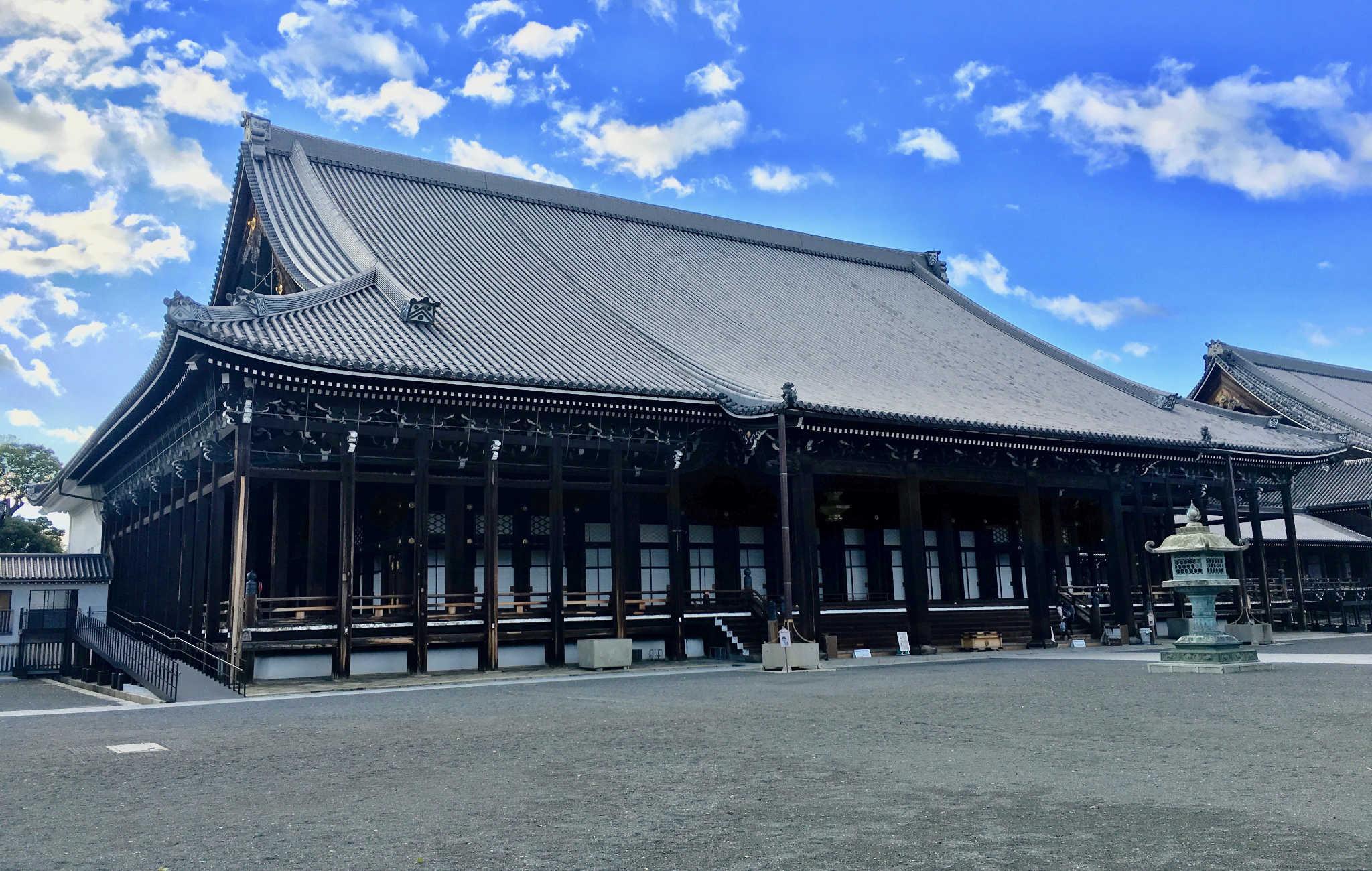 Nishi Hongan-ji : le Temple de l'Ouest des Voeux premiers