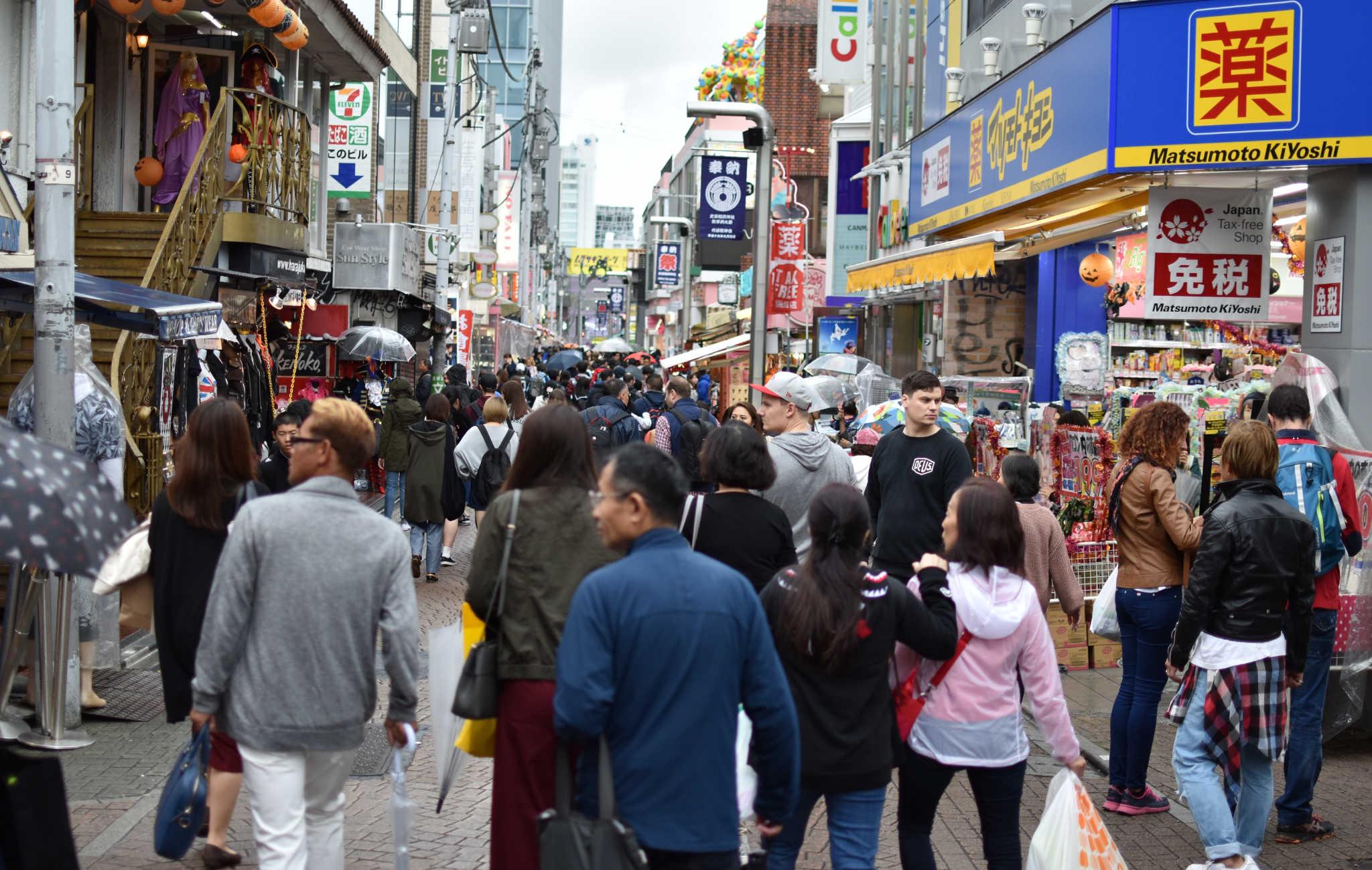 Takeshita Dori à Tokyo, des boutiques pour tous les styles