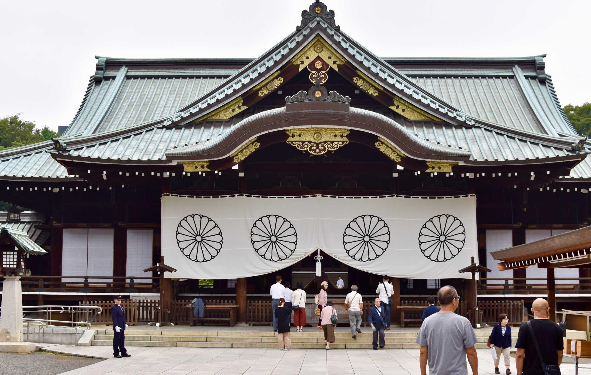 Sanctuaire Yasukuni à Tokyo, pour la mémoire des victimes de guerre