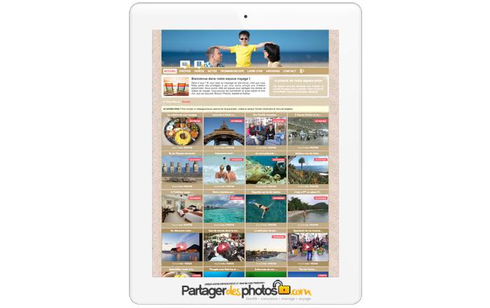 Carnet de voyage sécurisé pour stocker vos photos