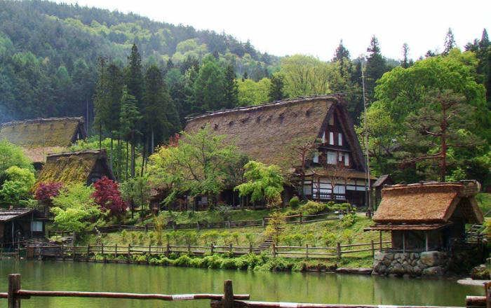 Chubu vous émerveillera par la beauté de ses paysages