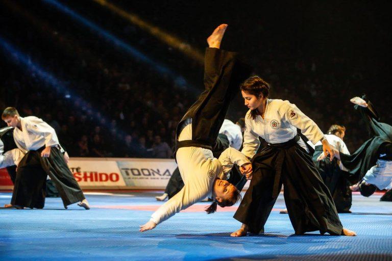 Démonstrations d'Aikido