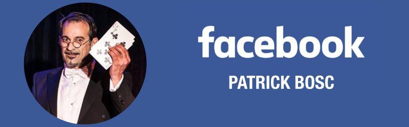 Page Facebook de Patrick Bosc, magicien et photographe
