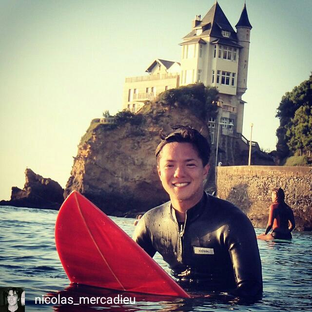 Yoshi, le surfeur japonais