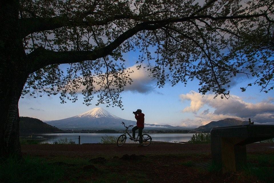 Les alentours du Mont Fuji et ses sentiers de rando à vélo