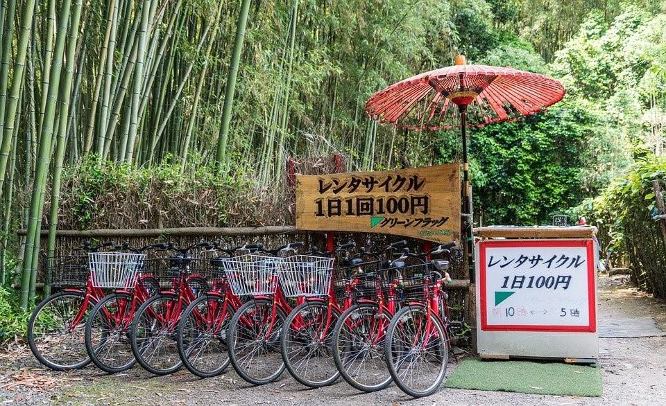 Location des vélos au Japon