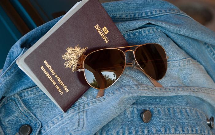 Passeport en règle pour le départ