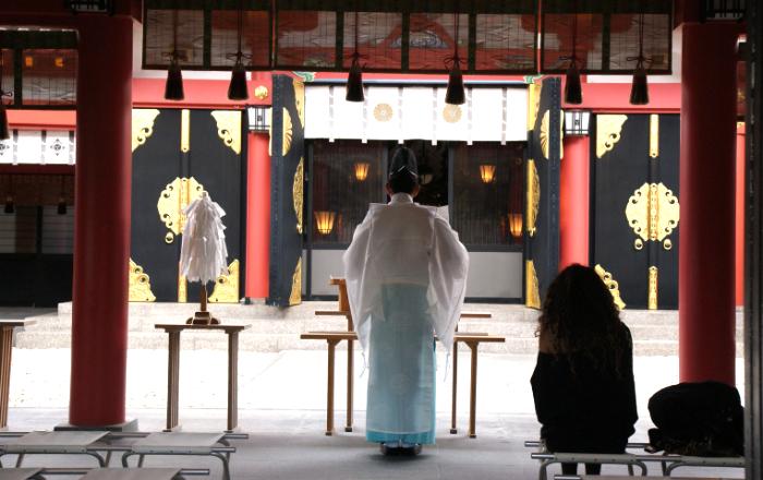 Le shinto est la vébération de Kami, les esprits de la nature incarnés dans toutes choses