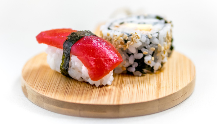 Sushi de thon rouge et maki
