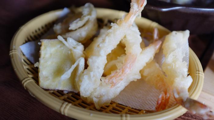 Tenpura de crevettes