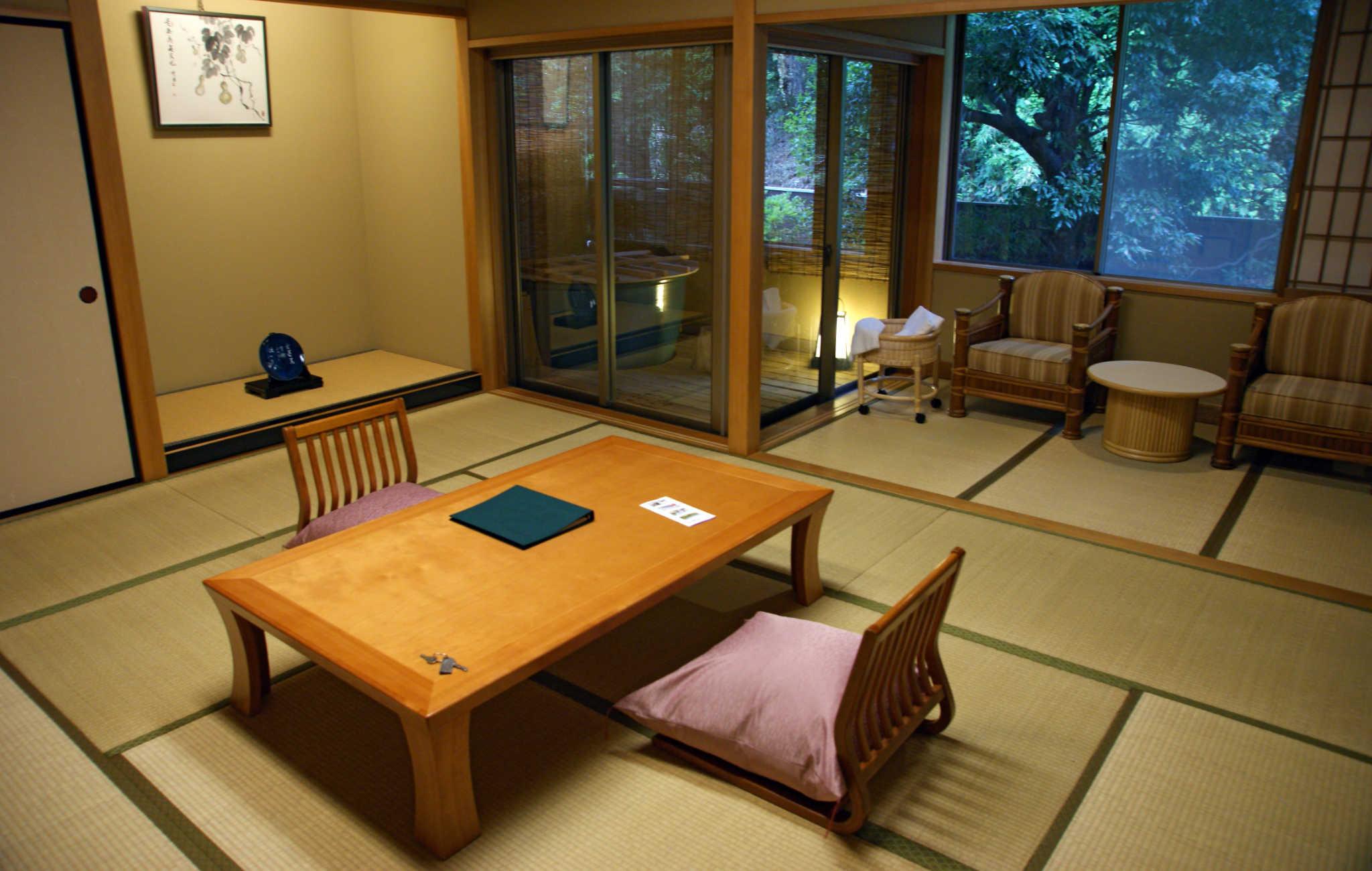 Table À Manger Japonaise l'intérieur d'une maison japonaise