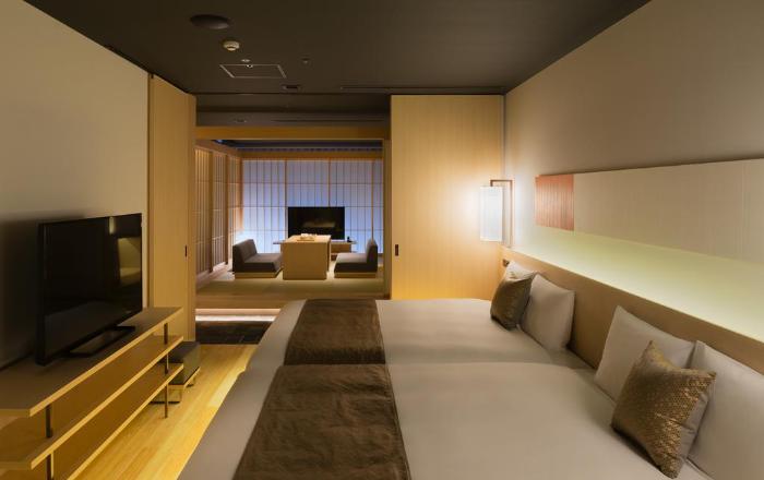 Une grande chambre, rare au Japon !