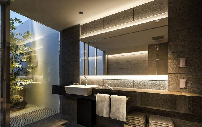 Magnifique salle de bain moderne