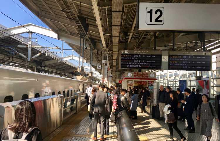Train vers Takayama, petite ville de montagne