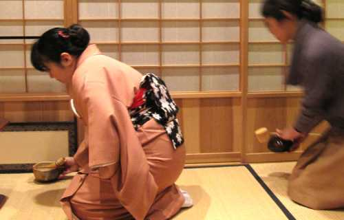 La cérémonie du thé ou Cha No Yu