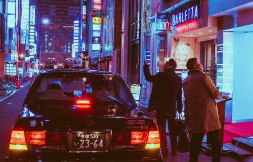 Conduire une voiture au Japon