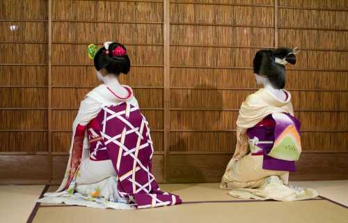 De quoi est composée la tenue d'une geisha