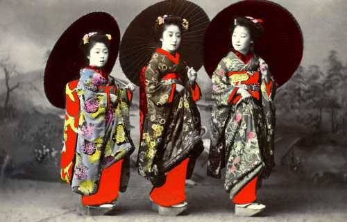 Histoire des geisha