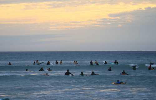 Le séjour surf d'un Japonais à Biarritz