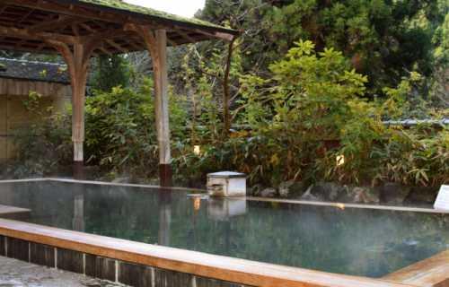 Onsen Kyoto : les bains dans des sources naturelles d'eau chaude