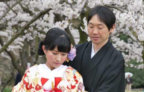 Le mariage au Japon suivant le culte shinto