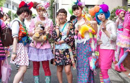 La mode dans la rue au Japon