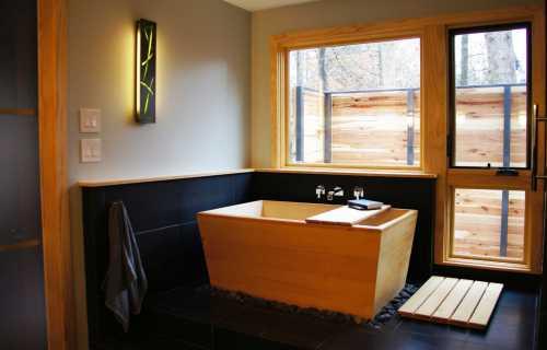 la salle de bain ofuro - Salle De Bain Japonaise Traditionnelle