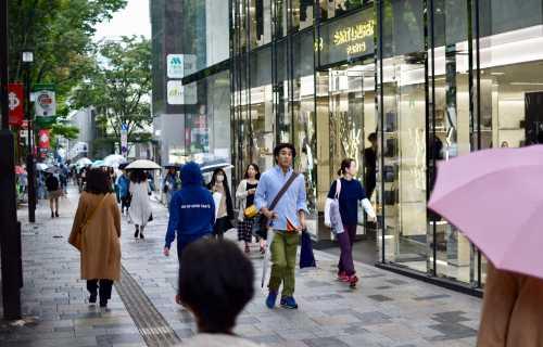 Omotesando à Tokyo, shopping élégance et raffinement