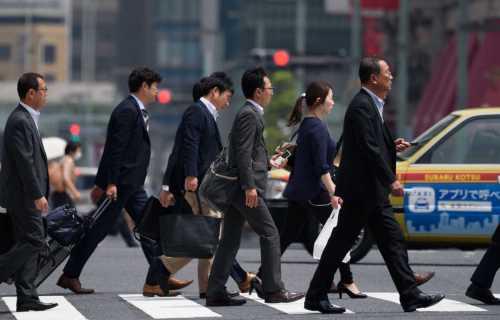 La place du travail au Japon