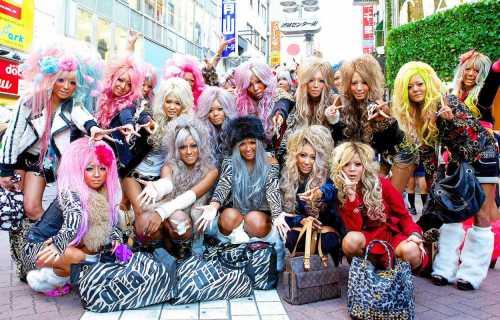 Kogaru, le look de la jeunesse au Japon