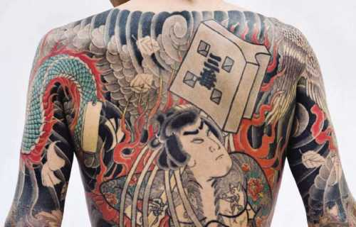Les tatouages au Japon