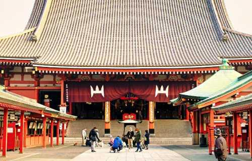 Asakusa et le temple Senso Ji à Tokyo