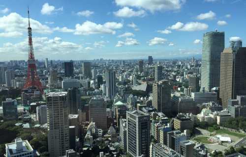 Minato à Tokyo, un des quartiers les plus dynamiques de la capitale du Japon
