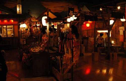 Oedo Onsen Monogatari à Odaiba