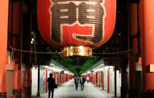 Senso-ji : un des lieux touristiques préférés de Tokyo