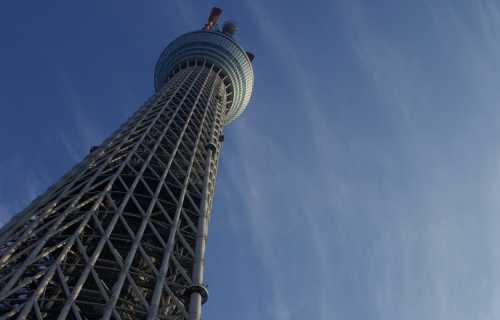 Tokyo Sky Tree : une vue incroyable sur la ville