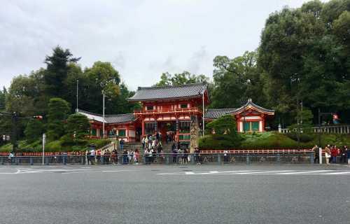 Yasaka-jinja : le sanctuaire du quartier du Gion