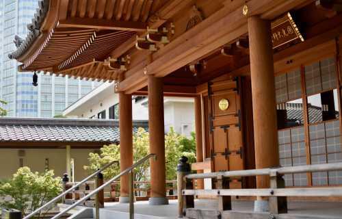 Zojo-ji à Tokyo : un des plus célèbre temple bouddhiste du Japon