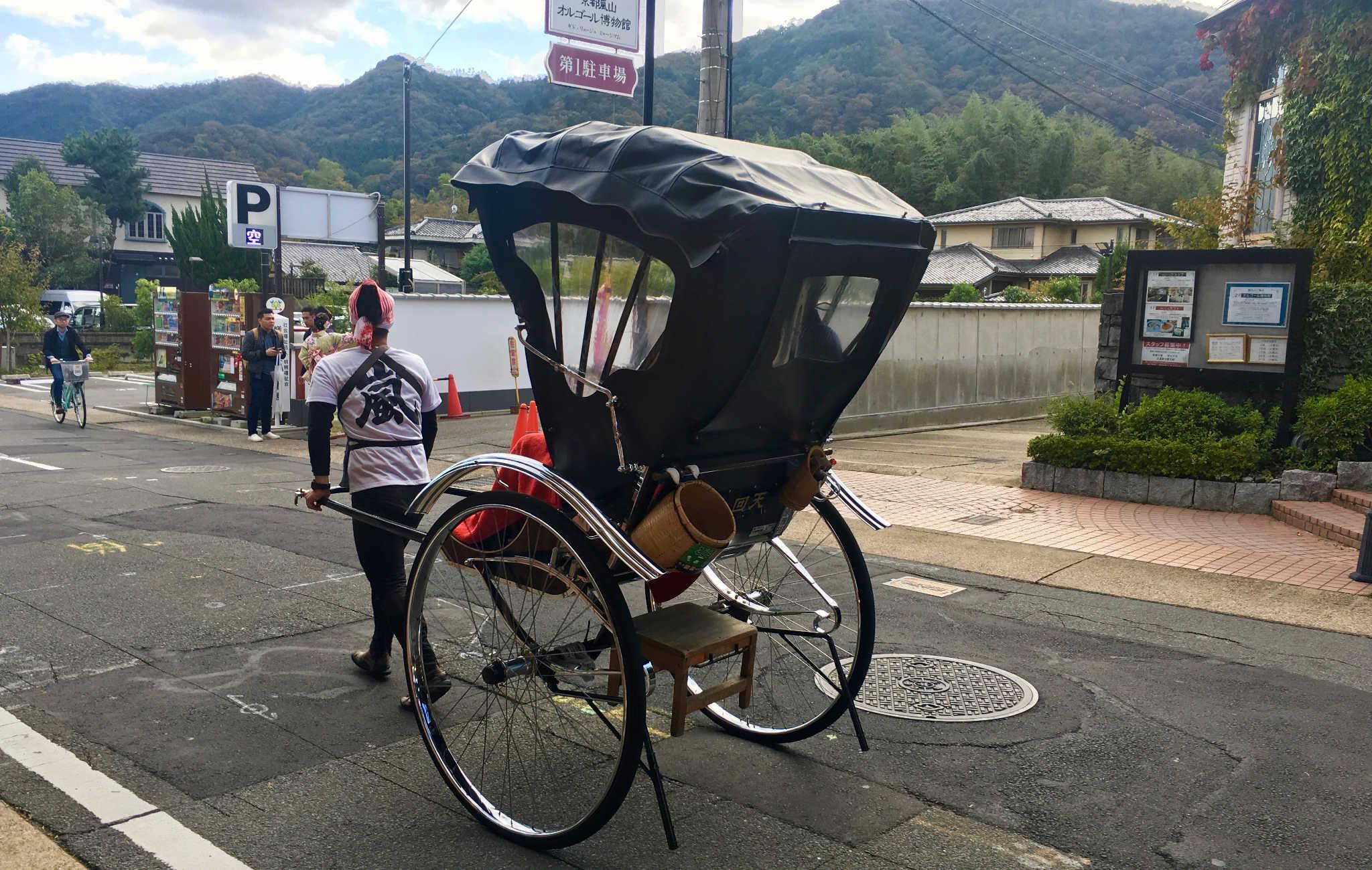 Une balade en rickshaw à faire à deux, un moyen sympa de se déplacer