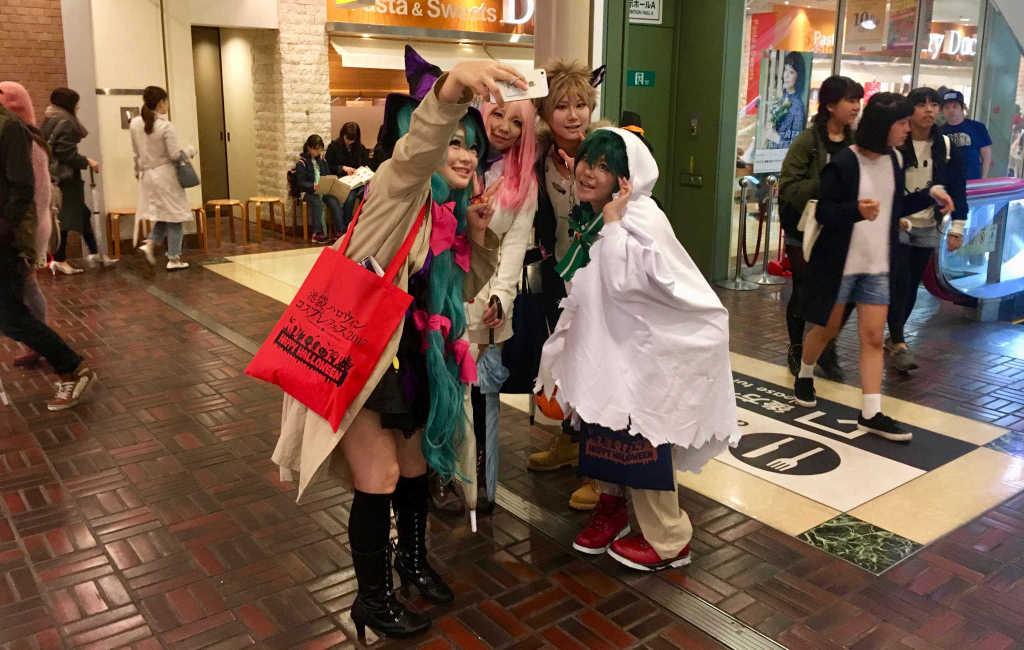 De jeunes japonaises très Kawai !