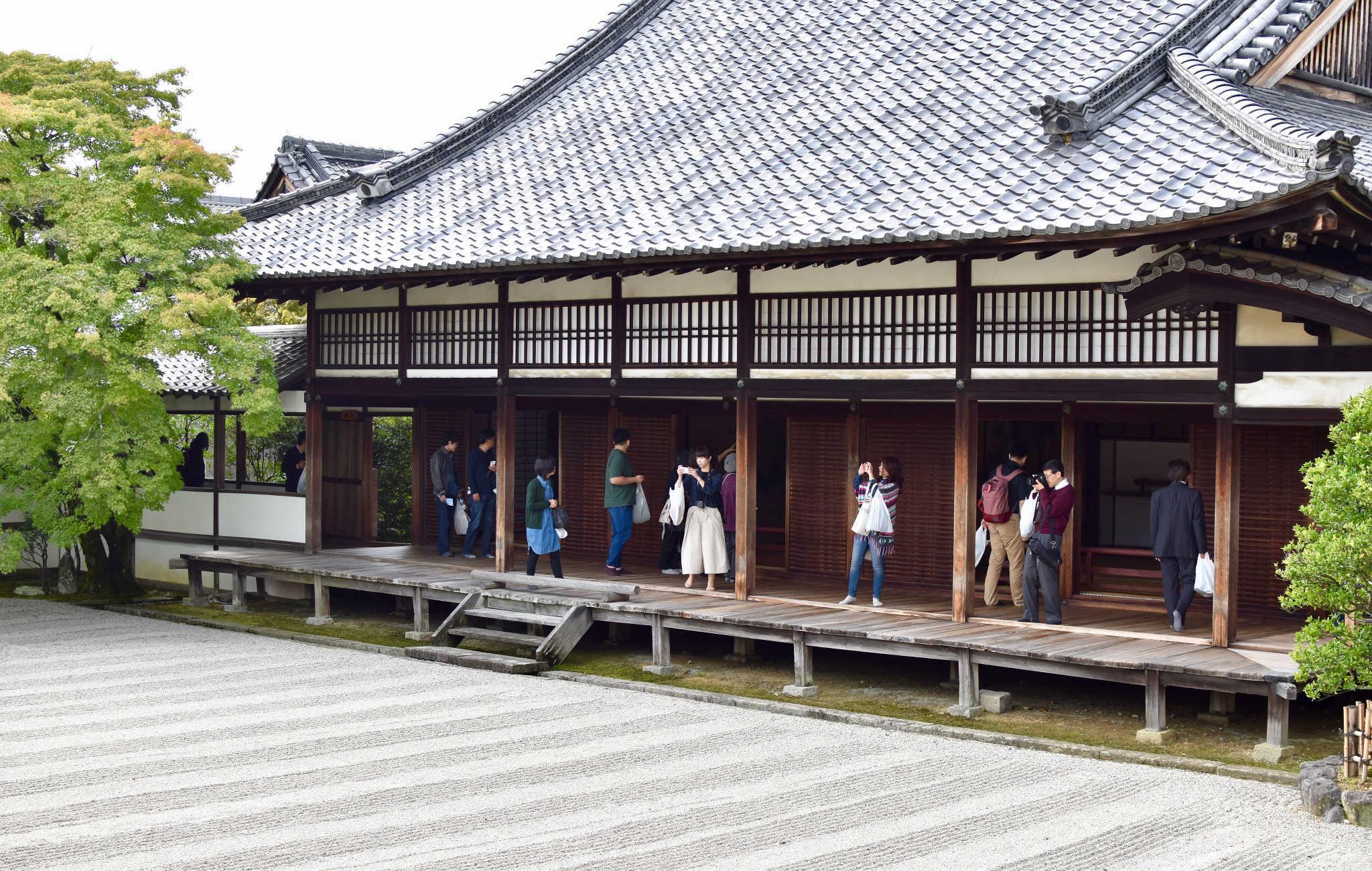 Les magnifiques jardins japonais ne peuvent exister que si chacun participe à son financement