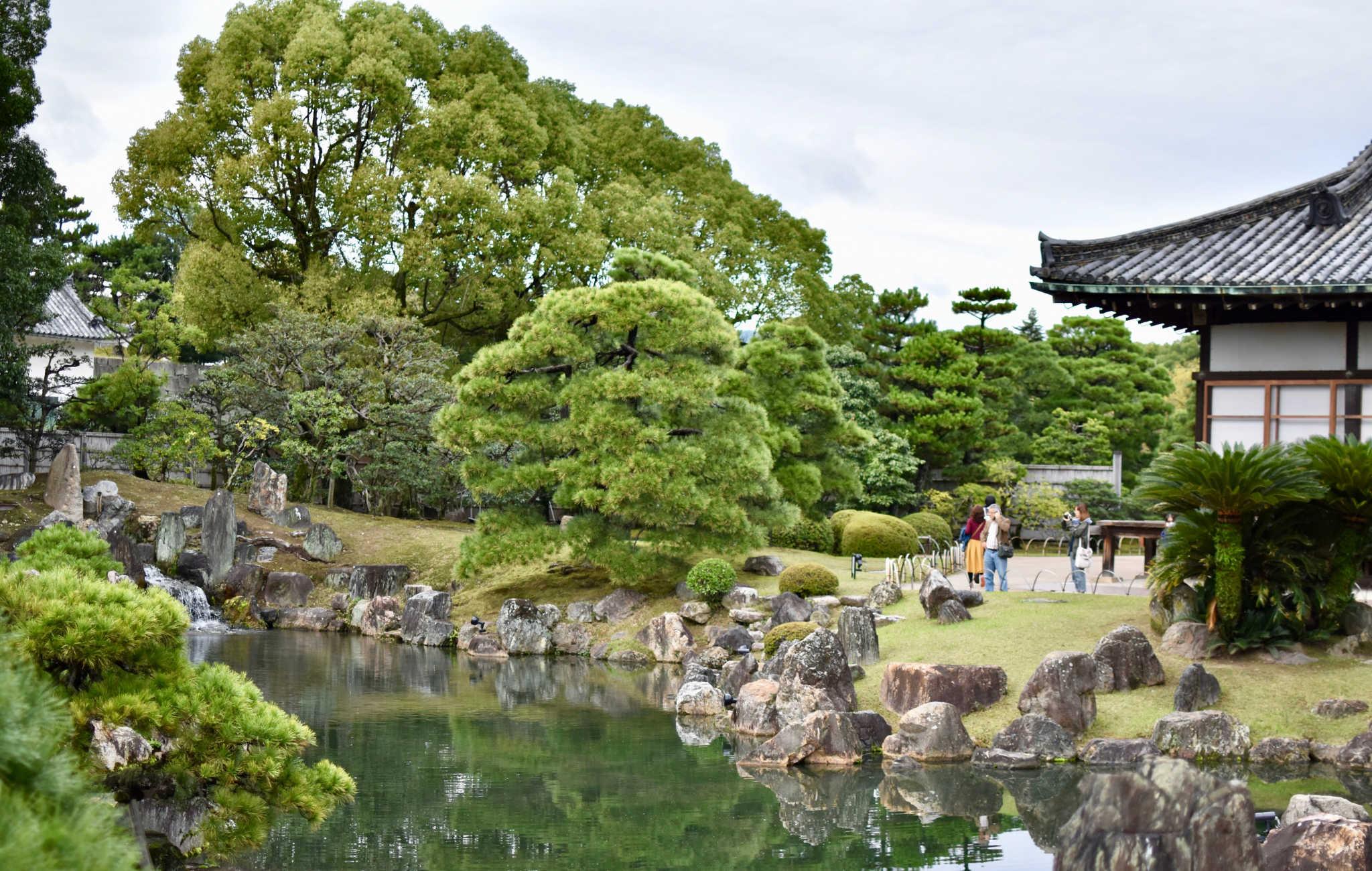 Impressionnant jardin japonais, un des plus beaux de Kyoto