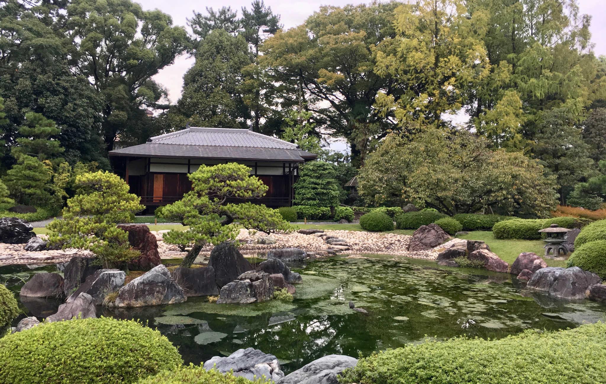 Un jardin japonais comme j'aimerai en voir souvent