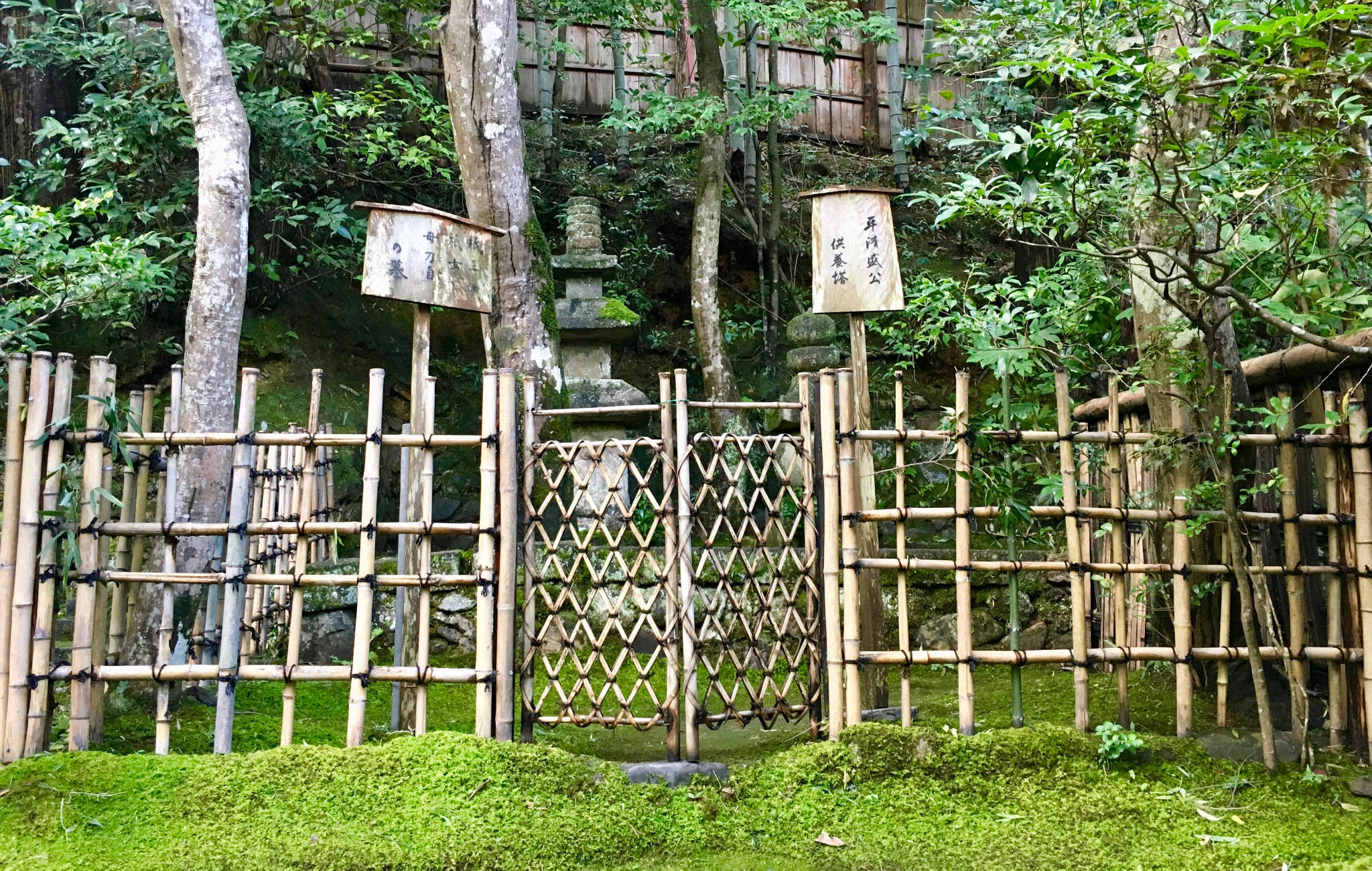Stunning cloture bambou jardin japonais ideas design for Conception de jardin japonais