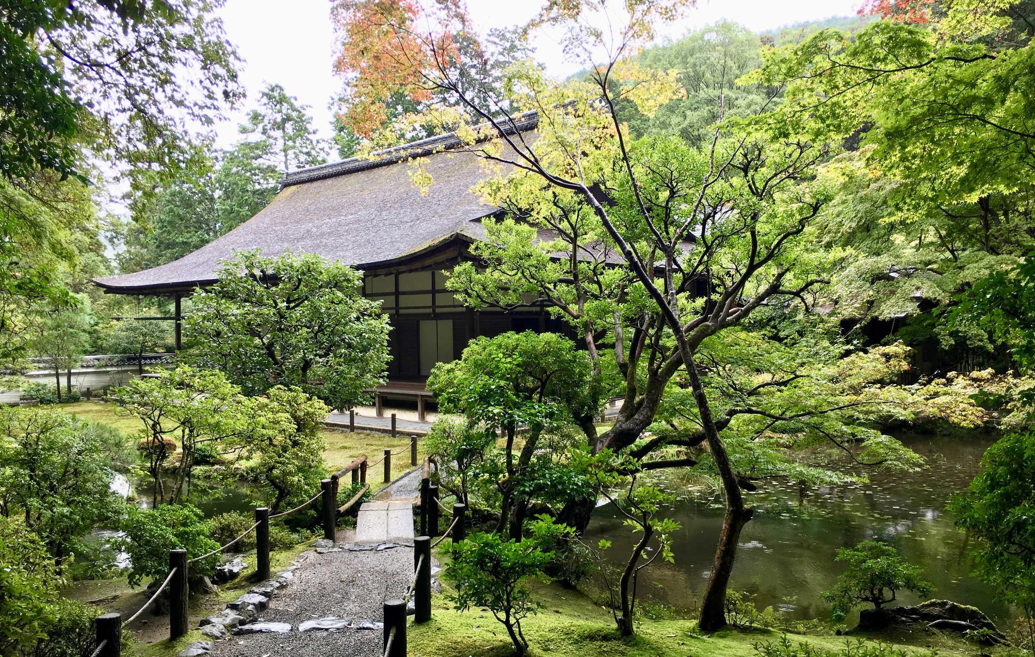 Nanzen-ji est un grand complexe bouddhiste avec des jardins remarquables