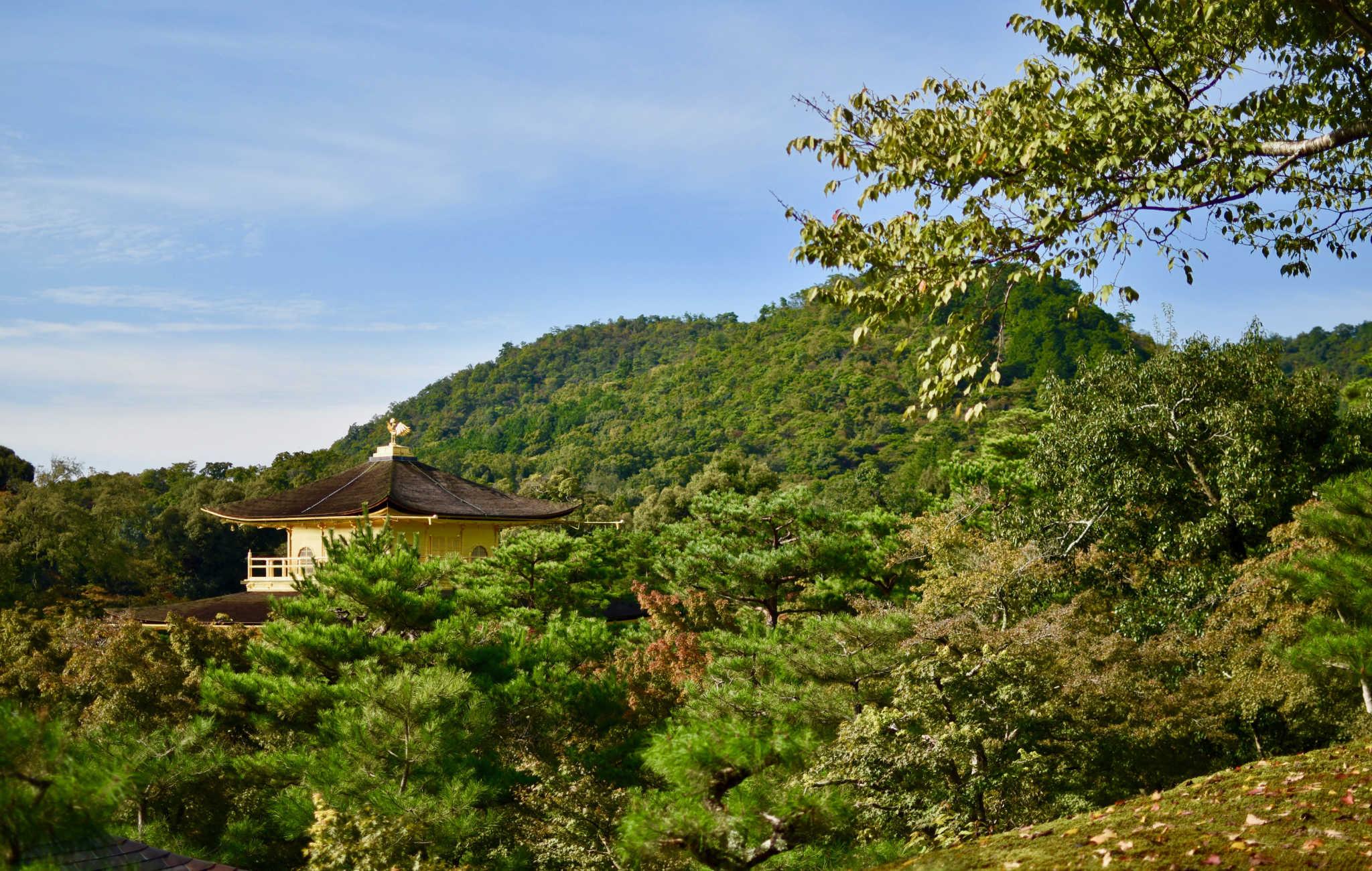 En haut du chemin vous aprécierez la vue sur le temple