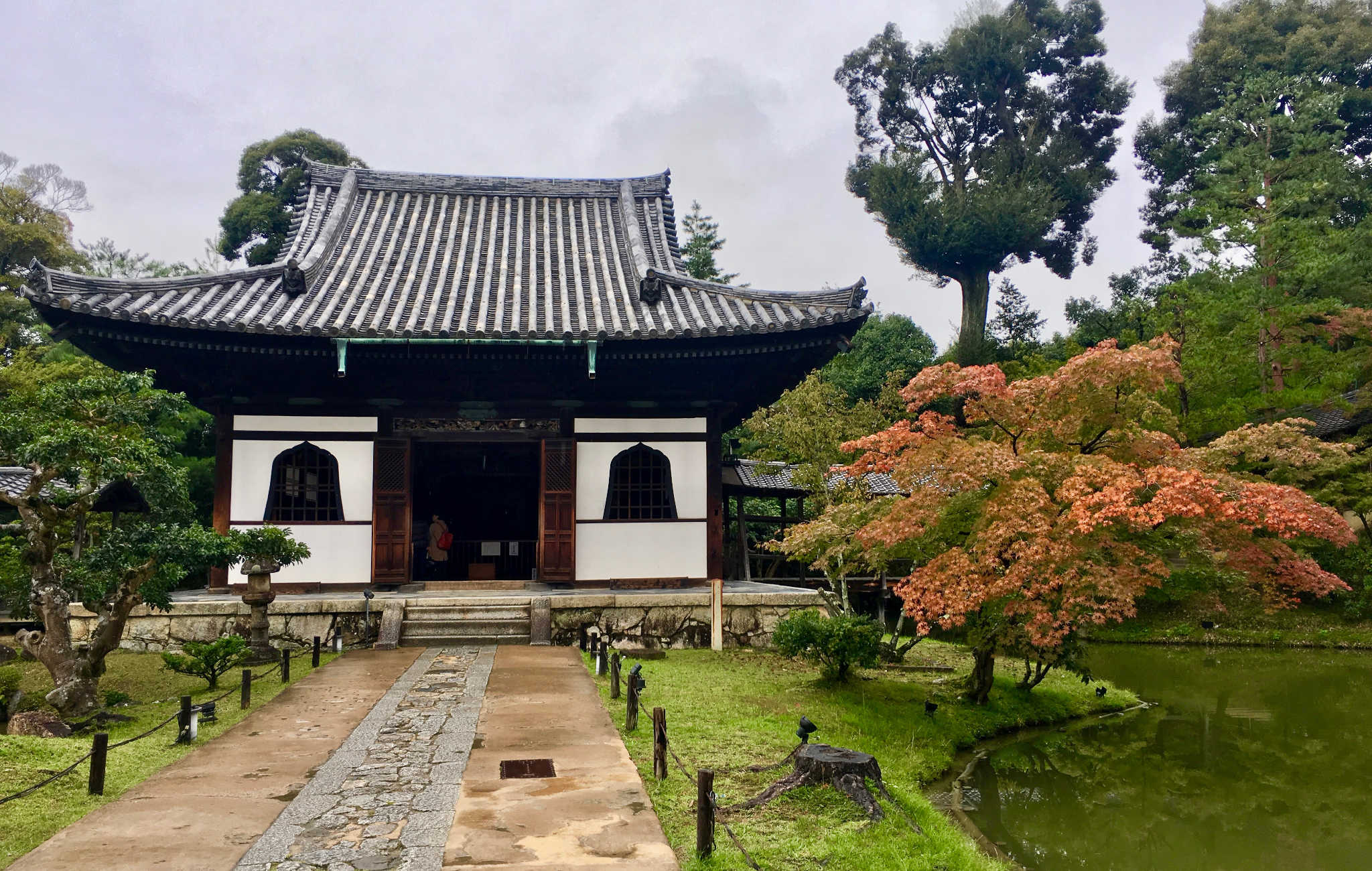 Le petit temple dédié à Toyotomi Hideyoshi et Kita-no-Mandokoro